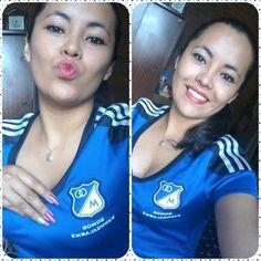Etiqueta #ConLaAzulPuesta en Twitter
