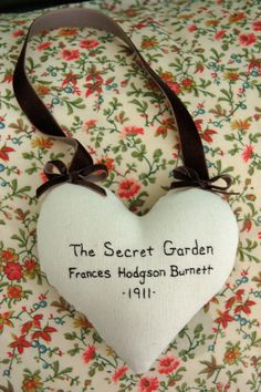 The Secret Garden Frances Hodgson Burnett Hand by ANovelHeart