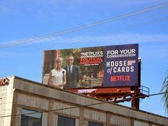 House of Cards season 2 FYC billboard