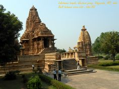 Lakshmana Temple Of Western Group of temples at Khajuraho, MP, India