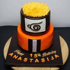 Naruto anime cake #naruto #narutocake #animecake