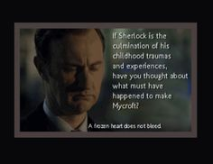 Exactly, the stuff with Euris also happened to Mycroft. Only he wasn't able to block it out nor ever forget it