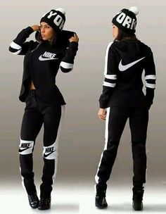 How To Wear Nike Outfits Sneakers 42 Ideas For 2019 - Alles über Damenmode Nike Outfits, Cute Swag Outfits, Sporty Outfits, Fall Outfits, Fashion Outfits, Sweats Outfit, Legging Outfits, Adidas Outfit, Mode Adidas