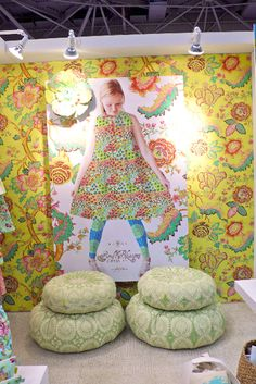 Spring Quilt Market Booth 2010 - Minneapolis MN--Amy Butler