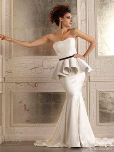 della giovanna wedding dress fall 2014 madison corset devin skirt  #weddingreceptiondress #weddingideas