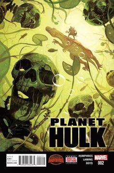 Preview: Planet Hulk #2,   Planet Hulk #2 Story: Sam Humphries Art: Marc Laming Covers: Mike Del Mundo & Yildiray Cinar Publisher: Marvel Publication Date: June 24t...,  #All-Comic #All-ComicPreviews #Comics #MarcLaming #Marvel #MikeDelMundo #PLANETHULK #Previews #SamHumphries #YildirayCinar