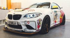 """BMW M2 """"GTS"""" Tuned By Evolve Gets The Art Car Treatment"""