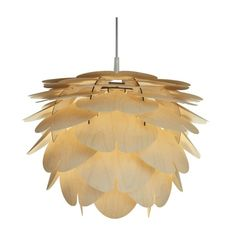 Aiko | organic wooden ceiling lamp