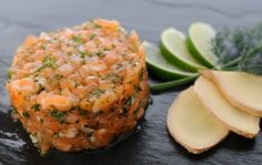 Mincir avec thermomix - Spécial régime DUKAN : Tartare de saumon - DUKAN