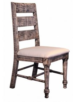 Rustic Dining Room Chairs  Costa Mesa Chair by IFD at Kensington Furniture   Perfect forPinterest   The world s catalog of ideas. Costa Mesa Dining Room Set. Home Design Ideas
