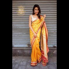 """""""Yellow and red banarasi saree To purchase this product mail us at houseof2@live.com  or whatsapp us on +919833411702 for further detail #sari #saree #sarees #sareeday #sareelove #sequin #silver #traditional #ThePhotoDiary #traditionalwear #india #indian #instagood #indianwear #indooutfits #lacenet #fashion #fashion #fashionblogger #print #houseof2 #indianbride #indianwedding#indianfashion #bride #indianfashionblogger #indianstyle #indianfashion #banarasi #banarasisaree"""" Photo taken by…"""