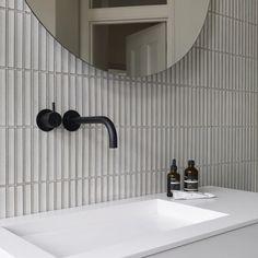 Mosaic Tile Sheets, Mosaic Tiles, Tiling, Wall Tiles, Bathroom Wall, Bathroom Interior, Loft Bathroom, Tile Layout, Wall Installation