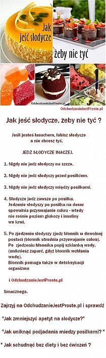 Stylowi.pl - Odkrywaj, kolekcjonuj, kupuj Low Calorie Smoothies, Tortellini, Bakery, Food And Drink, Sweets, Fruit, Cooking, Health, Kitchen