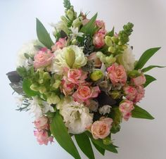 hand bouquets for large flowers | phone rebecca on 01778 421582 or 07818 091354