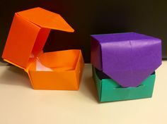 How To Make Origami Box Easy 40 Best Diy Origami Projects To Keep Your Entertained Today. How To Make Origami Box Easy How To Make Origami Box With Lid Origami Wonderhowto. How To Make Origami Box Easy Easy Origami Box. Origami Candy Box, Origami Box With Lid, Origami Toys, Origami Cube, Origami Frog, Origami Envelope, Diy Origami, Origami Tutorial, Origami Paper