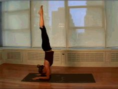 What I'm working on in yoga: forearm balance