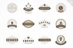 48 Coffee Logotypes and Badges - Logos