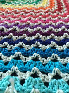 Cotone van Lana Grossa maakt een omslagdoek seems like old times met patroon