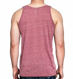 Tank Top - Red - Back
