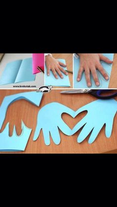 Preschool Crafts for Kids*: Top 21 Valentine' - Top Paper Crafts Valentine's Day Crafts For Kids, Diy For Kids, Diy And Crafts, Arts And Crafts, Paper Crafts, Children Crafts, Sunday School Crafts, Decor Crafts, Valentine Day Crafts
