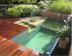 I have collected many different ideas on how to incorporate the perfect pool for your backyard. So, go on and check out this Outstanding Backyard Pool Ideas That Will Make You Say WOW! Outdoor Spaces, Outdoor Living, Outdoor Pool, Indoor Outdoor, Wood Deck Designs, Backyard Designs, Natural Swimming Ponds, Natural Pools, Au Natural