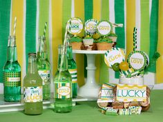 Wants and Wishes: Party planning: Give Luck- St. Patrick's Day collection