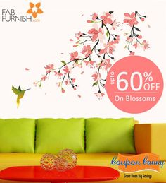 Upto 60% off on #Blossoms at #Fabfurnish! Claim Now : http://www.couponcanny.in/fabfurnish-coupons/