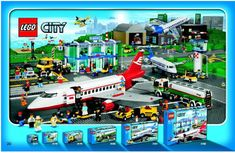 LEGO City Airport Instructions 3182, City