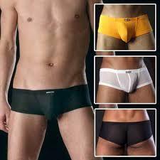 Sexy Boxer Short sous vêtement lingerie homme Nylon Élastique Slips M L XL Nylons, Underwear, Gym Shorts Womens, Slip On, Swimwear, Collection, Fashion, Templates, Interiors