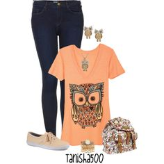 """Owl Contest :)"" by tanisha500 on Polyvore"