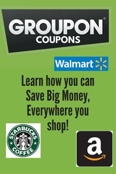 Save big money online & in-store with Groupon Coupons!