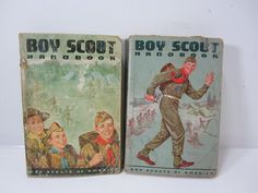 Vintage Boy Scout of America Handbook 1959 and 1965 Edition - A Handbook of Training for Citizenship Through Scouting by littlewoodenhouse on Etsy