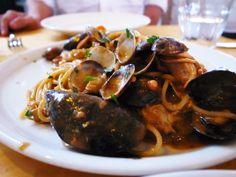 魚介のスパゲッティ!#scoglio #pasta #パスタ #スパゲティ #魚介