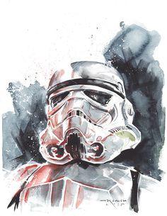 Star Wars: Episode VII - The Force Awakens - Storm Trooper by Ricardo Drumond *