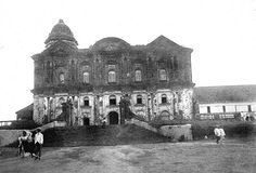 The great church at Taal, Batangas Province, Luzon, Philippines