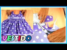 Dress Sewing Patterns, Doll Clothes Patterns, Baby Patterns, Clothing Patterns, Barbie Dolls Diy, Diy Doll, Hai Day, Cute Dresses, Girls Dresses
