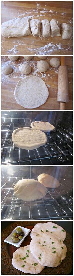 pita bread ~ Recipe Favorite