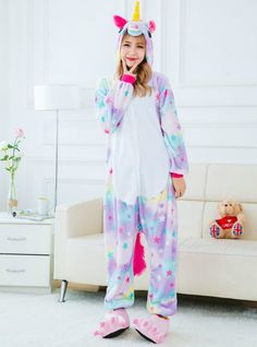 d841818838 Animal Stitch Unicorn Panda Bear Koala Star Unicorn – Lilacoo Adult Pajamas