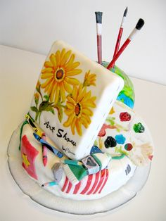 A cake and a work of art (in more ways than one)