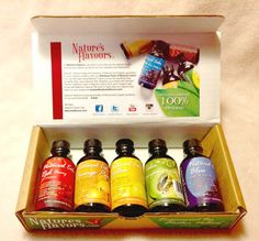 Natures Flavors Rainbow Pack of Natural Colors Review! - Fun With Four