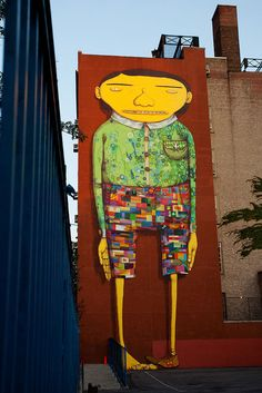 Os Gemeos in Chelsea