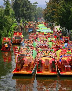 Xochimilco lies 28 km south of Mexico City. With its network of canals and artificial islands, it testifies to the efforts of the Aztec people to build a habitat in the midst of an unfavourable environment. Its characteristic urban and rural structures, built since the 16th century and during the colonial period; have been preserved in an exceptional manner.