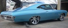 impala, fastback | 1968 Chevy Impala Fastback