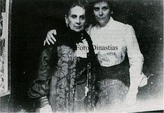 """Princess Olga Paley,born Olga Valerianovna Karnovich with her mother,Olga Vasilyevna Meszaros. """"AL"""""""