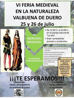 Este #FinDeSemana en la #RiberaDelDuero, Doña Estefanía de Armengol vuelve a @Valbuena_Duero http:/ /goo.gl/NZ3Bg9