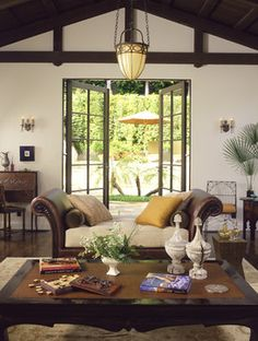 Mediterranean Living Photos Tuscan Style Design Ideas, Pictures, Remodel, and Decor - page 22