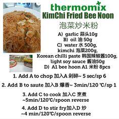 Kimchi fried Meehoon