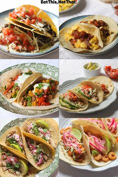 Looking for an easy dinner idea? Celebrate Taco Tuesday—or any weeknight—with these delicious taco recipes! Sweet Potato Tacos, Sweet Potato Recipes, Spicy Tuna Recipe, Taco Food Truck, Rotisserie Chicken Tacos, Pork Carnitas Recipe, Beef Recipes, Cooking Recipes, Mexican Tacos