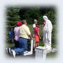 St. Joseph Shrine at Maranatha Spring and Shrine (Holy Love Ministries) in Ohio, USA www.holylove.org