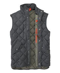 Woolrich Men's Northspur Vest - Dark Shale